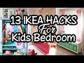 💗 13 Fun IKEA Hacks for Your Kid's Bedroom 💗 Home decor ideas