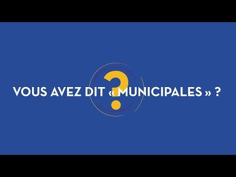 Les élections municipales et intercommunales, 1 minute 30 pour comprendre