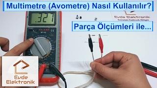 Multimetre Nasıl Kullanılır? Multimetre (Avometre) ile Ölçümler Yapmak #7