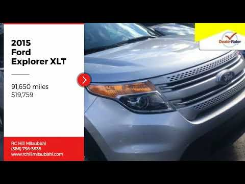 2015 Ford Explorer XLT Used FGB47175