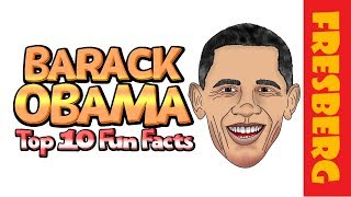 Barack Obama: 10 Fun Facts you might not know | Educational Cartoons for Students