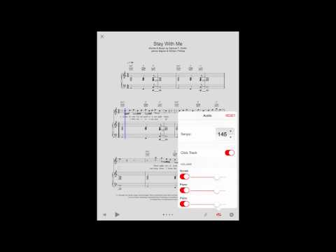 Playback and customising scores