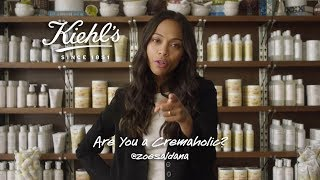 Zoe Saldana Skin Care Favorites | Kiehl's Cremaholics