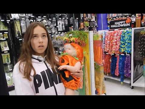 Shopping For Halloween Costume At Party City For Reborn Toddler Skylar