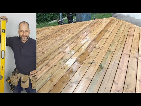How To Build A Deck Part 5 Picture Framing