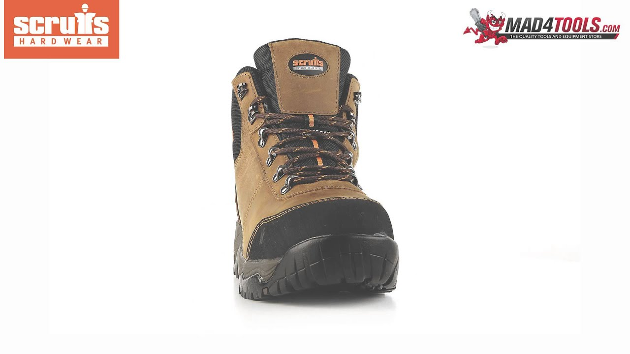3be1ae886bc Scruffs ASSAULT SBP SRC Rated Safety Hiker - Brown (Sizes 7-12)