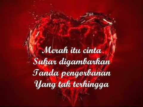 Merah itu Cinta lirik