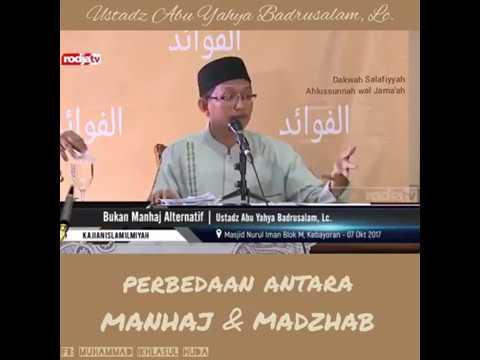 Apa Perbedaan Antara Manhaj dengan Madzhab? - Ustadz Abu ...