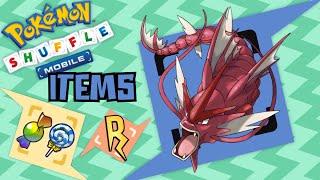 Pokémon Shuffle Mobile - ¡MEGA GYARADOS! (items) Megaturbo + Nivel Max!