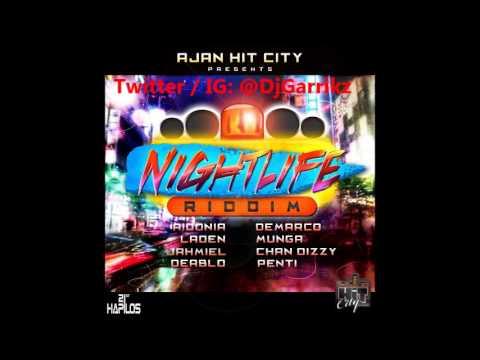NightLife Riddim Mix - AJan / Hit City Records - 2014 Dancehall  Mixed by @DjGarrikz