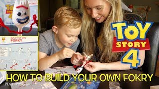 How To Make Your Own Forky From Toy Story 4 in about 10 Minutes