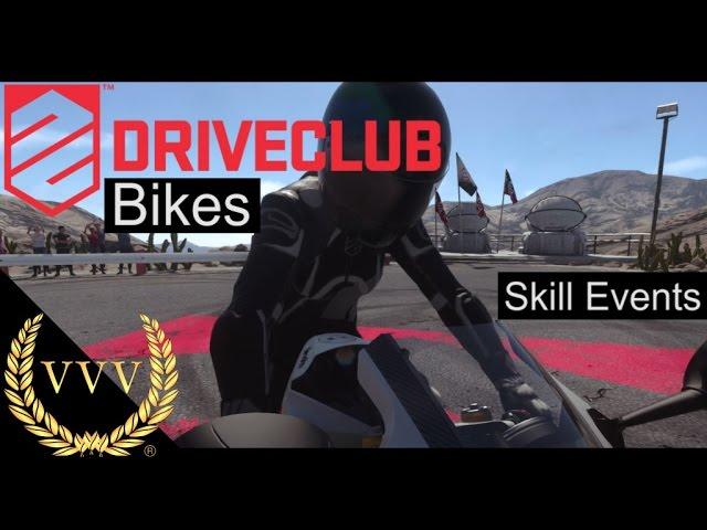 Driveclub Bikes - Skill Events