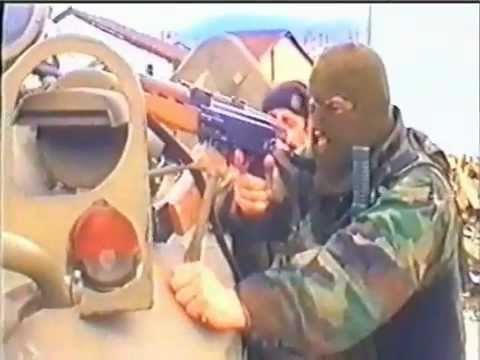 Battle of Tetovo - War against radical islamic Albanian UÇK Terrorists part I