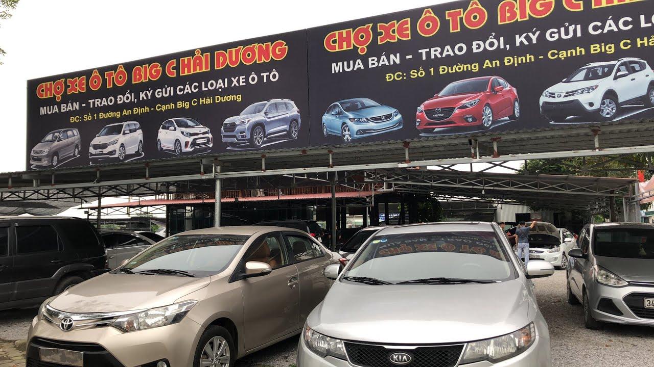 Báo giá các loại xe đã có tại chợ ô tô 34fun bigc 17-4 giá 200-600 triệu
