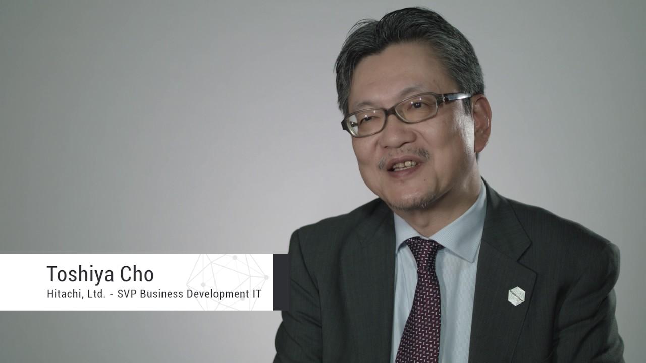 Toshiya Cho of Hitachi Limited on Hyperledger