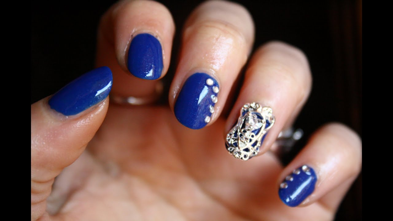 Nail jewels - Tutorial nail art + BornPrettyStore review - YouTube