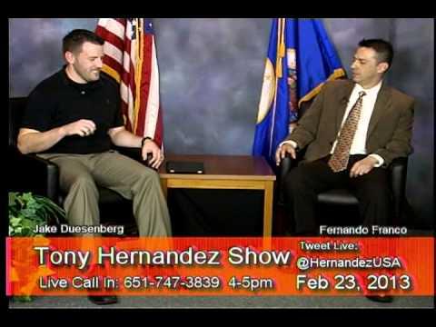Tony Hernandez Show 2013/02/23