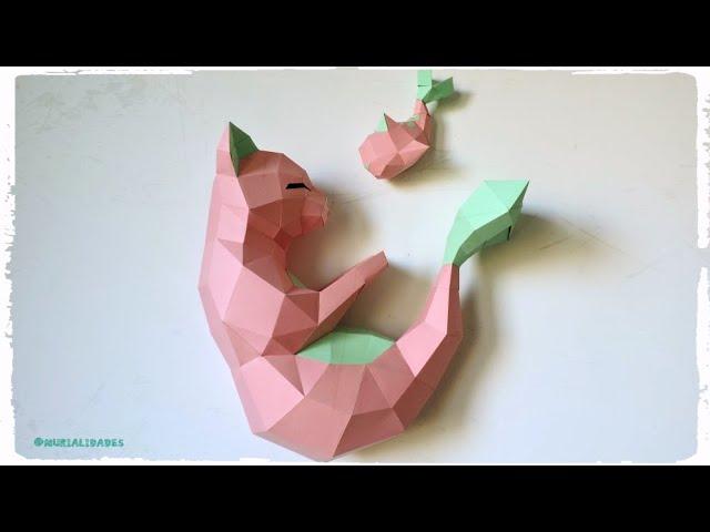 Fur Bastelfans Realistisch Anmutende Tier Papercrafts
