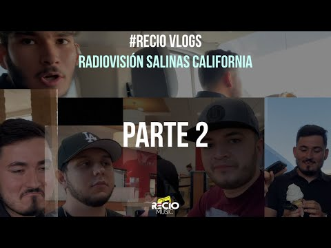 (PARTE 2) #RecioVlog Radio Visión Salinas California!
