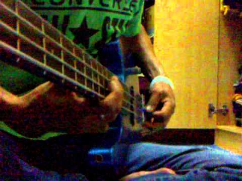 Black dog bone-sisa sisa cinta(bass cover)