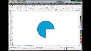 как рисовать круг, сектор и дугу