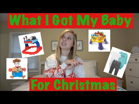 WHAT I GOT MY BABY FOR CHRISTMAS // Baby Gift Guide // 2019 Baby Gift Ideas