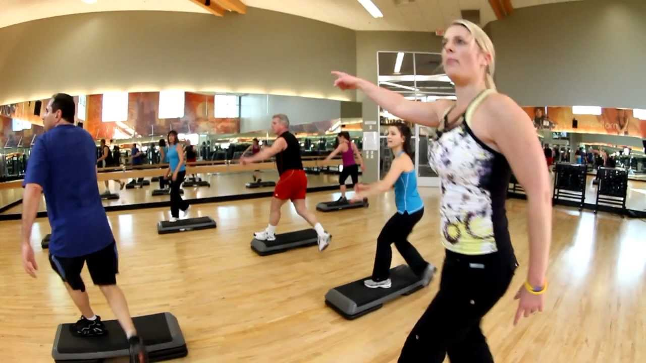 step class at la fitness youtube