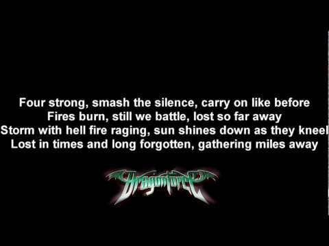 DragonForce - A Flame For Freedom | Lyrics on screen | HD