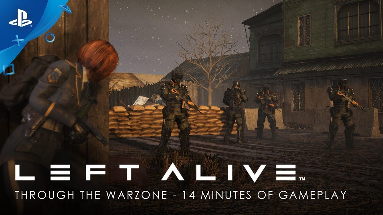 Left Alive Through The Warzone 14 Minutes Of Gameplay Ps4 Youtube