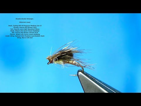 Download Youtube: Tying a Double Decker Emerger by Davie McPhail