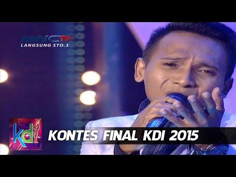 "Fauzi "" Kembalikan Dia "" Bima - Kontes Final KDI 2015 (8/5)"