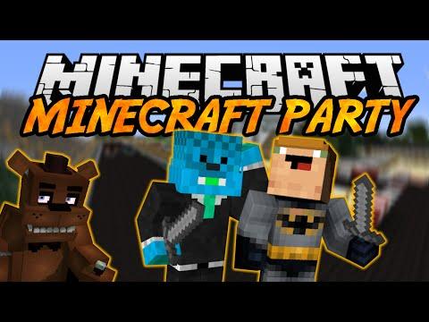 Minecraft Mini-Igra [#28] - MINECRAFT PARTY - FREDDDYYYYYYYYY
