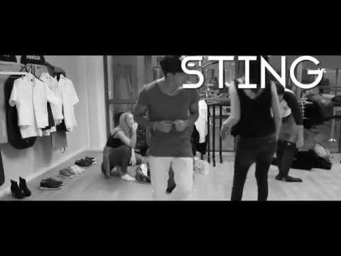 Eric Saade - Sting [Behind the Scenes Lyric Video]
