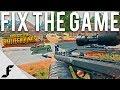 Fix the game PUBG