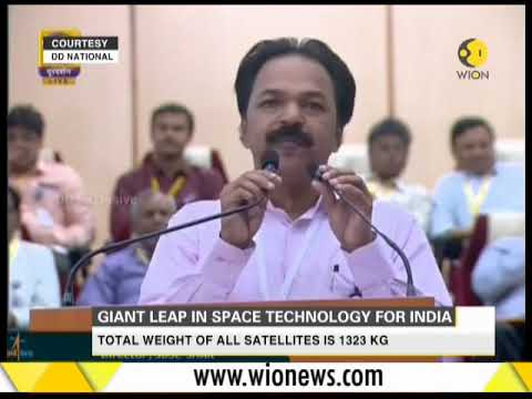 Giant leap in space technology for India; 100th satellite launch for ISRO
