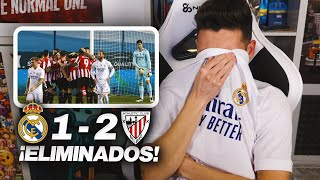¡ELIMINADOS! REACCIONES DE UN HINCHA Real Madrid vs Athletic Club 1-2