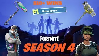 New Season 4 Skins // 510+ Wins // Level 43 // // 13000+kills // Fortnite Battle Royale