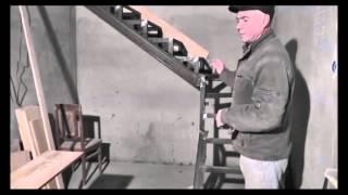 видео заказать лестницу из дерева