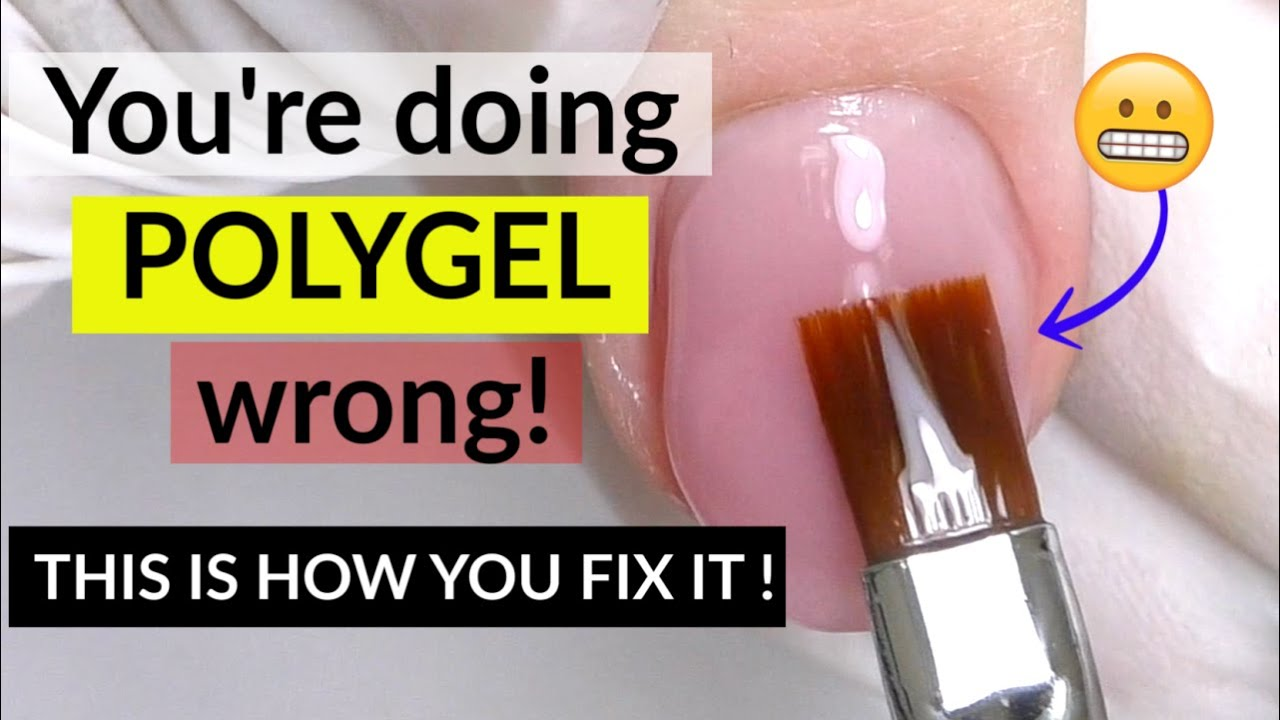 Download Mistakes in Polygel Nails Application | Lifting problems