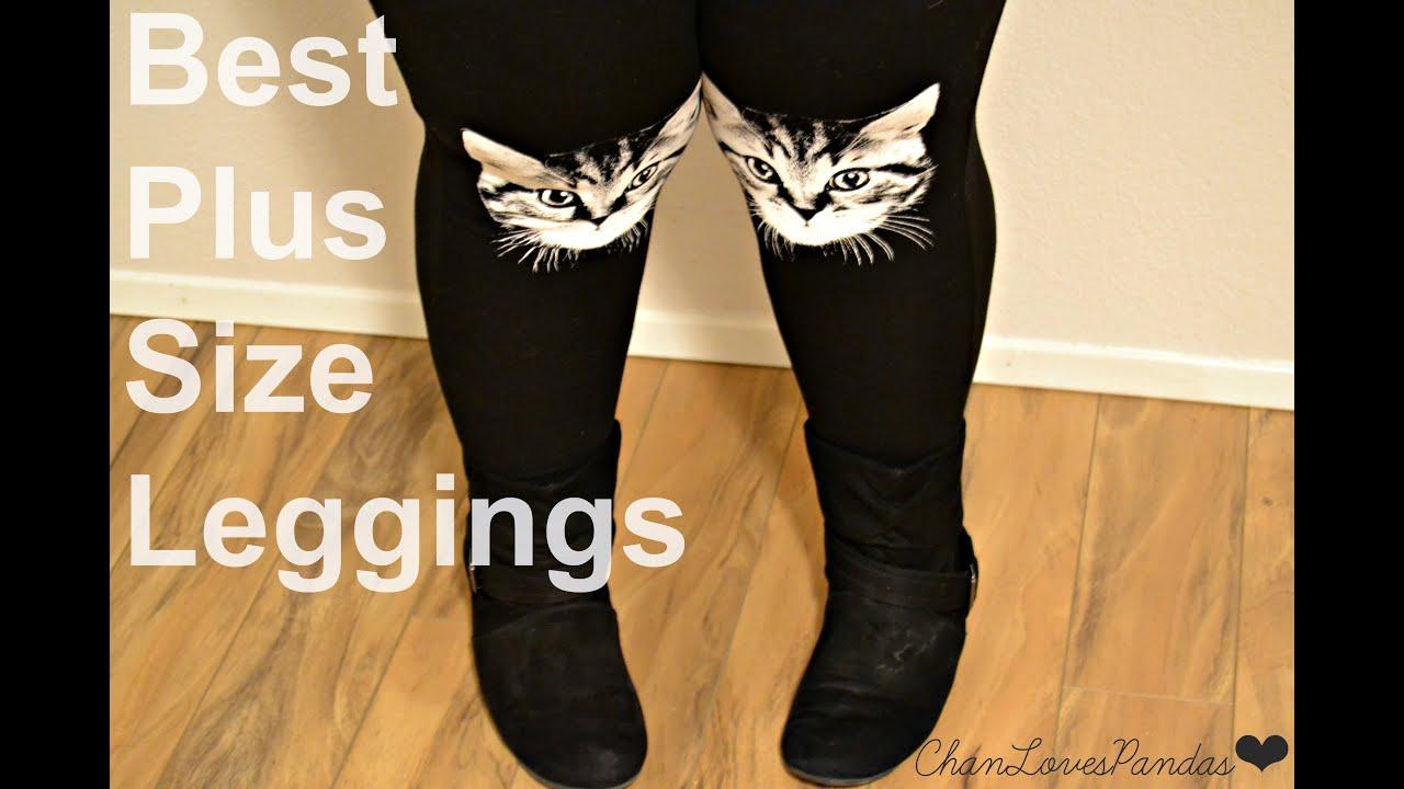 Plus Size Cat Leggings
