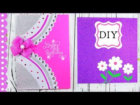 💜💖💜How to make birthday cards💜💖💜Birthday cards handmade💜💖💜