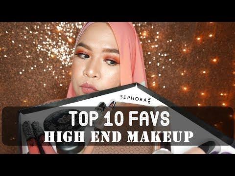Top 10 High End Makeup Favs | SEPHORA MY