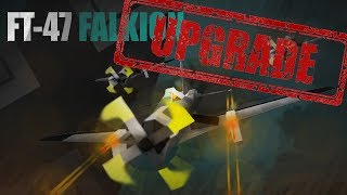 ROBLOX- Plane Crazy [Alpha] [Tutorial] FT-47 Falkion UPGRADE
