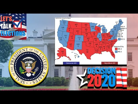 The Most Horrific Map For The 2020 Presidential Election