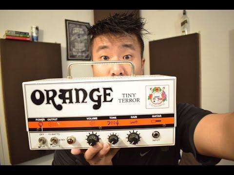 Orange Tiny Terror HONEST Demo/Review