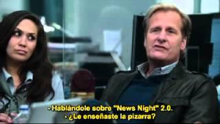 La regla mnemotécnica de las noticias (The Newsroom, episodio 2)