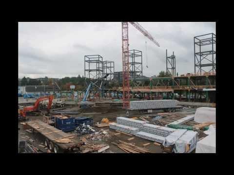 MEC head office - Construction, phase 1
