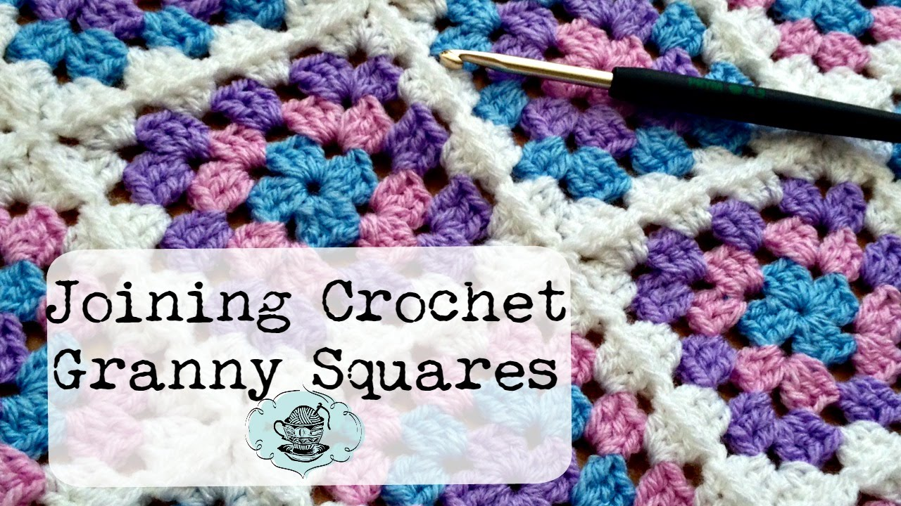Crochet Stitches To Join Granny Squares : DIY Join-As-You-Go Method: Joining Crochet Granny Squares ? The ...