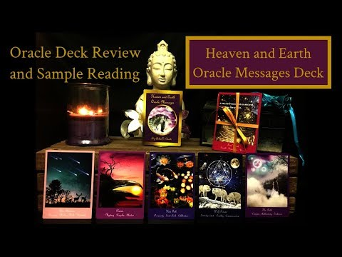 'Heaven & Earth Oracle Messages' Deck Review & Sample Reading