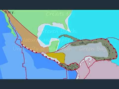 Plate Tectonics and the Evolution of Central America and the Caribbean